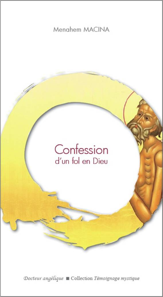Cover image for Confession d'un fol en Dieu